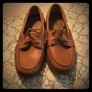 Men's Sperry boat shoes worn ONCE!